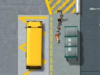Флеш игра Лицензия на вождение школьного автобуса