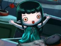 Флеш игра Лилит находит друга в ночь на Хэллоуин