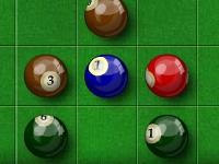 Флеш игра Линии с бильярдными шарами