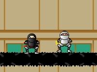 Флеш игра Липкий ниндзя: Академия