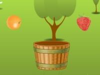 Флеш игра Лови фрукты