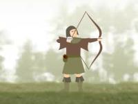 Флеш игра Лучник маленький Джонс