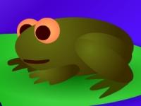 Флеш игра Лягушка ловит жуков