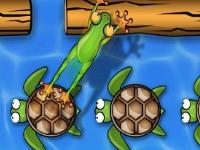 Флеш игра Лягушка на дороге