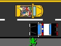 Флеш игра Лягушка на улице