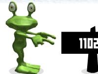 Флеш игра Лягушонок и катапульта