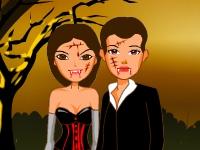Флеш игра Любовь вампиров
