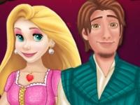 Флеш игра Любовная история Рапунцель и Флинна