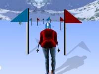 Флеш игра Лыжные гонки