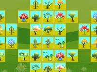 Флеш игра Маджонг с деревьями