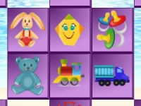 Флеш игра Маджонг с игрушками