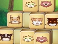 Флеш игра Маджонг с кошками