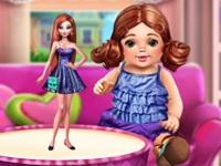 Флеш игра Магазин игрушек: Куклы