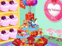 Флеш игра Магазин на день Святого Валентина