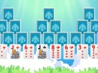 Флеш игра Магический замок: Пасьянс