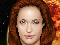 Флеш игра Макияж для Анджелины Джоли