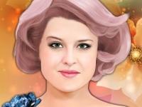 Флеш игра Макияж для Келли Осборн