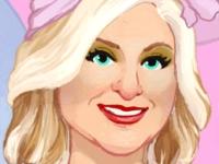 Флеш игра Макияж для Меган Трейнор