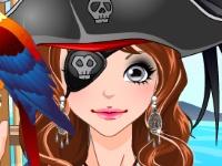 Флеш игра Макияж для пирата