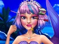Флеш игра Макияж для принцессы-русалки