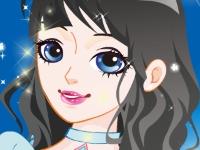 Флеш игра Макияж для снежной принцессы