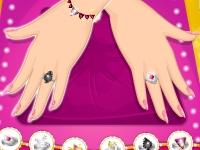 Флеш игра Маникюр и кольца с алмазами