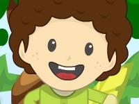 Флеш игра Мальчик и робот спасают деревья