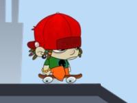 Флеш игра Мальчик на скейте