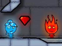 Флеш игра Мальчик огонь и девочка вода 3: ледяной храм