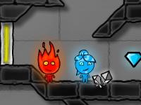 Флеш игра Мальчик огонь и девочка вода 4: Кристальный храм