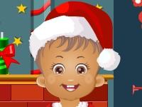 Флеш игра Маленькая Дейзи и Рождество