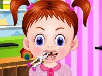 Флеш игра Маленькая Эмма у дантиста
