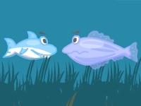 Флеш игра Маленькая акула