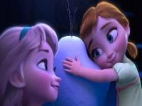 Флеш игра Маленькие Эльза и Анна: Пазл