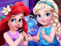 Флеш игра Маленькие принцессы на пижамной вечеринке