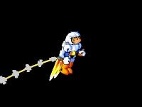 Флеш игра Маленький Человек-Ракета