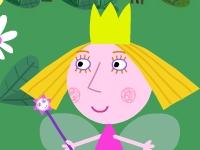 Флеш игра Маленькое королевство Бена и Холли: Волшебный сад