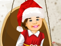 Флеш игра Малыш Санта на теплых островах