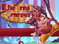 Флеш игра Малыш в красном лесу