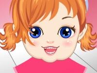 Флеш игра Малышка Джессика у стоматолога
