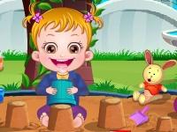 Флеш игра Малышка Хейзел: Гигиенический уход
