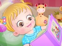 Флеш игра Малышке Хейзел пора спать