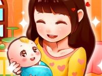 Флеш игра Мама рожает