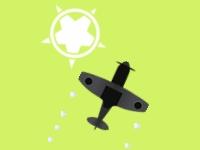 Флеш игра Маневры на самолете