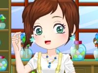 Флеш игра Марина идет в кондитерский магазин