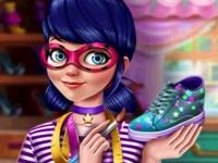 Флеш игра Маринетт дизайнер обуви