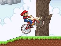 Флеш игра Марио BMX