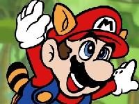 Флеш игра Марио: Приключения в джунглях
