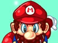 Флеш игра Марио: Зимний мир