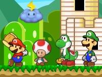Флеш игра Марио и друзья: Защита замка